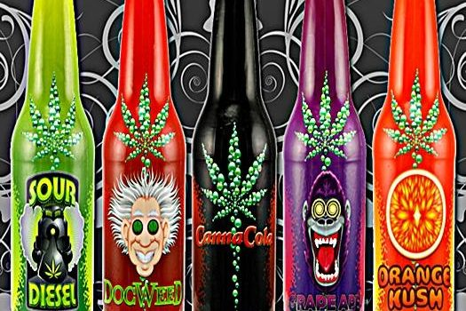 marijuana infused drinks