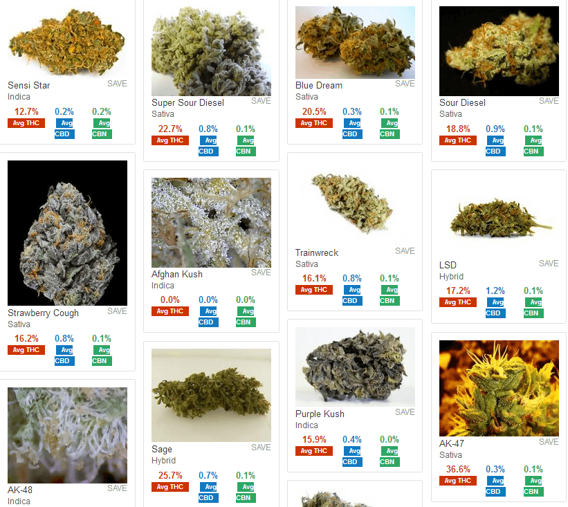 super potent marijuana strains with awesome names