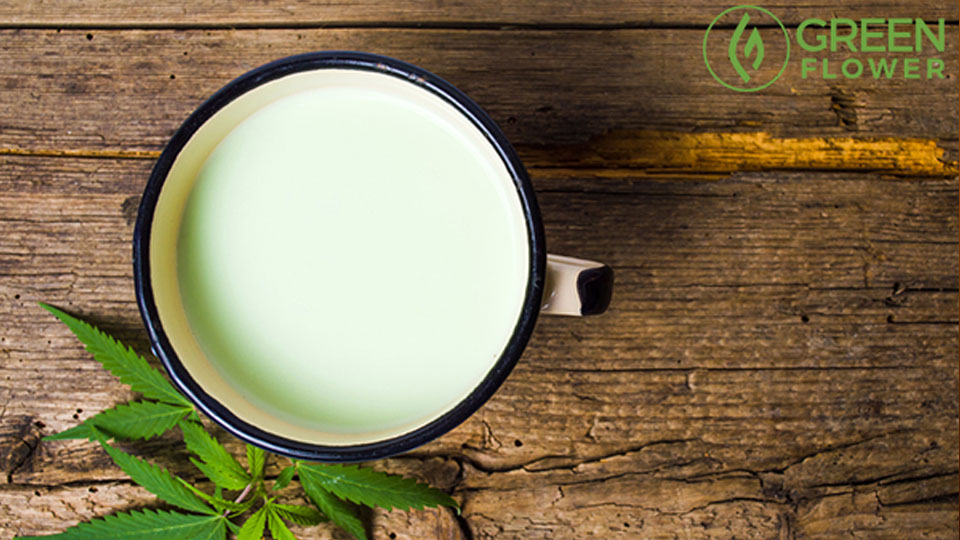 Sugar Free Cannabis Milk