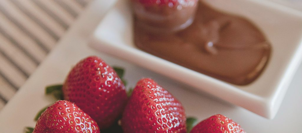 Strawberry Choco Cannabis Dip