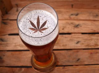 Pot Infused Beer