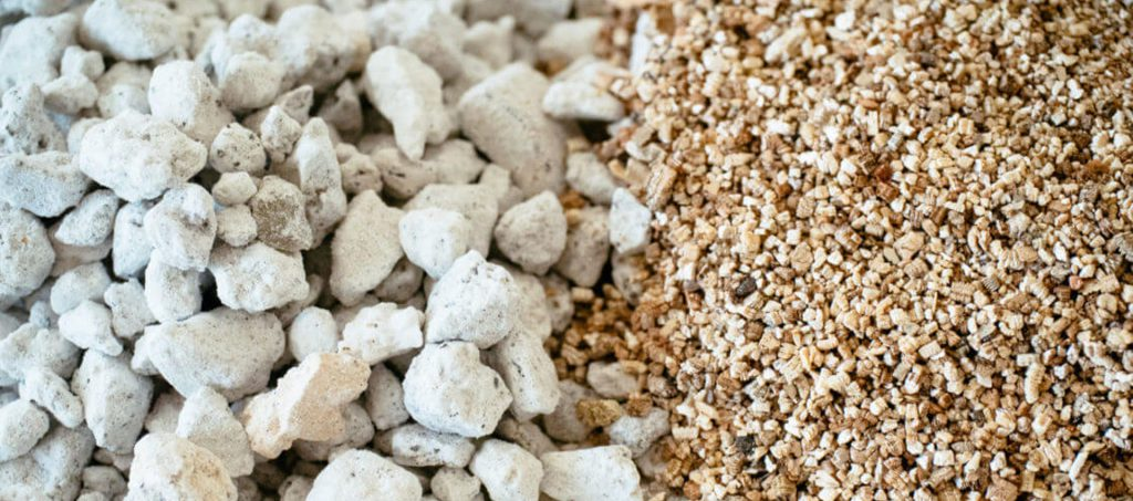 Vermiculite and Perlite for Cannabis